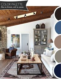 color palette blue u0026 brown cool u0026 warm the anatomy of design