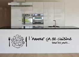 cuisine de tous les jours sticker collant l amour çà se cuisine tous les fruits légumes