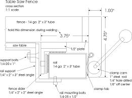 diy biesemeyer table saw fence http www hobartwelders com weldtalk showthread php 44366