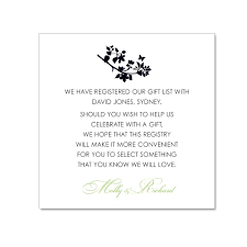 gift registry cards awesome wedding invitation wording gift registry wedding