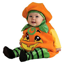 Infant Skunk Halloween Costumes Baby Pumpkin Jumper Costume 6 12 Target
