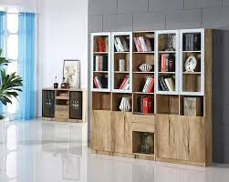 Office Bookcases With Doors Home Office Bookcases Home Office With Wall Of Built In Bookcase