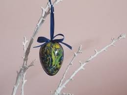 Easter Egg Decorating History by Tree Decoration Easter Egg Decoupage With Plexiglass Plexiglass