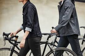 road bike waterproof jacket levi u0027s races on the open road in its 2016 fall commuter collection