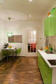 Green Kitchens Kitchen Of The Day This Ultra Modern Kitchen Features High Gloss