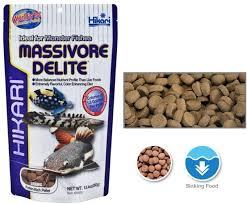 hikari massivore sinking pellets hikari massivore delite 380g sinking protein rich pellet na fish