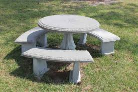 cement table and bench precast concrete tables precast concrete benches monumental