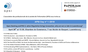 chambre de commerce luxembourg open banking and psd 2 when regulation brings innovation why are