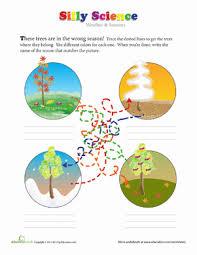 kindergarten weather u0026 seasons worksheets u0026 free printables