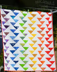 quilt pattern websites free tutorial rainbow migrating geese quilt by jane