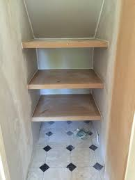 under stairs cupboard plastering and shelves urmstonhandyman