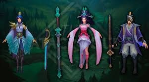 guid fiora janna fiora and yi skin preview