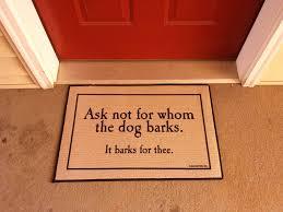 Fun Doormat Personalized Dog Doormats Personalized Doormats Giftsforyounow