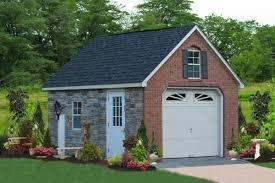 one car prefab car garages 100 u0027s of choices amish built