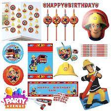 fireman sam party ebay