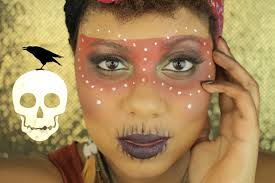 easy voodoo witch doctor halloween makeup tutorial mikayla