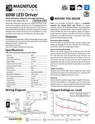 magnetic under cabinet 12 volt transformer wiring diagram