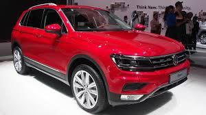 volkswagen red 2016 volkswagen tiguan red exterior and interior walkaround