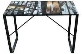 plateau verre bureau plateau bureau en verre table de salle a manger ou bureau de travail
