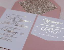 wedding invitations wedding invitation etsy