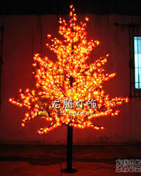 artificial outdoor christmas led lights tree led maple leaf tree