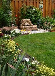 slow growing shrubs create low maintenance garden backyard is