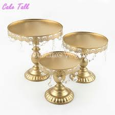metal cake stand aliexpress buy metal cake stand set 8 10 12 inch gold