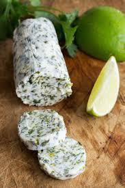 lime cilantro lime compound butter recipe simplyrecipes com