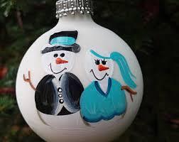snowman wedding etsy