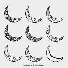 crescent moon vectors photos and psd files free