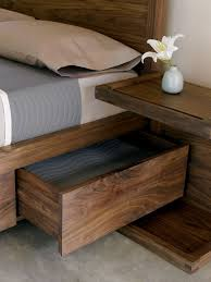 wood bed frame with drawers bed with storage night stand love this bed maybe a slightly