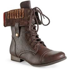 sweater lined foldover combat boots aeropostale sweater lined foldover combat boot aéropostale