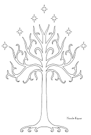 tree of gondor stencil crafting things to just for me