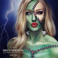 Bride Frankenstein Halloween Costume Ideas Bride Frankenstein Sfx Makeup Tutorial Frankenstein Makeup