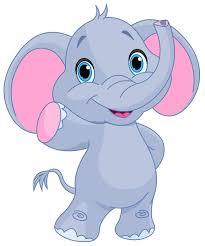 elephant clipart elephant cartoon pencil and in color elephant