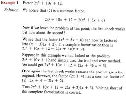factor a polynomial or an expression with step by step math
