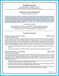 Teacher Assistant Resume Sample How To Write A Teacher Assistant Resume