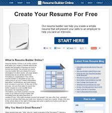 Resume Generator Online by Resume Builder Online Alternatives And Similar Software