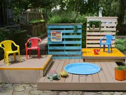 Creative Backyard Playground Ideas Backyard Decorating Ideas On A Budget Home Outdoor Decoration