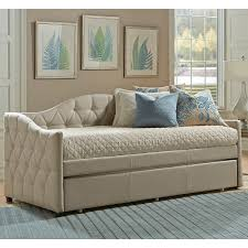 jamie fabric daybed in beige humble abode