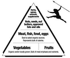 paleo food pyramid healthy eating meal and diet plan 12 x 18
