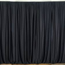 10ft red polyester fire retardant curtain stage backdrop partition