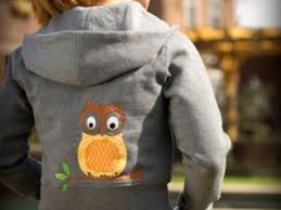 project appliqued owl hoodie singer sewing