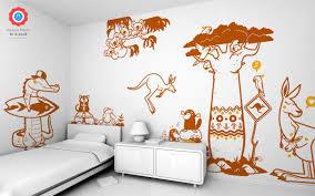 australia koala family wall decal baby kids wall decals e glue koala kids wall decals