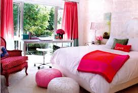 White And Pink Desk by Bedroom Awesome Teenage Room Designs With White Fabric Bedding