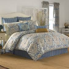 cal king comforter bedroom brimming with muted tones and