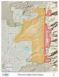 Map Of Utah Cities Utah Fireworks Restrictions For 2016 Pioneer Day Ksl Com