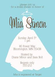 dress invitations exciting bridal shower invitations entertaining theme bridal party