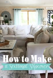 How To Build A Sectional Sofa How To Make A Sectional Slipcover Confessions Of A Serial Do It