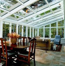 solarium sunroom glass roof sun room or solarium with wood interior